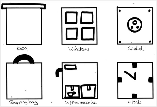 Squares clipart square shaped object By DRAWING Tes How a