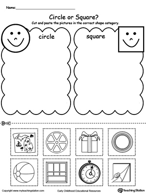 Squares clipart square shaped object  Sorting: the Correct Place
