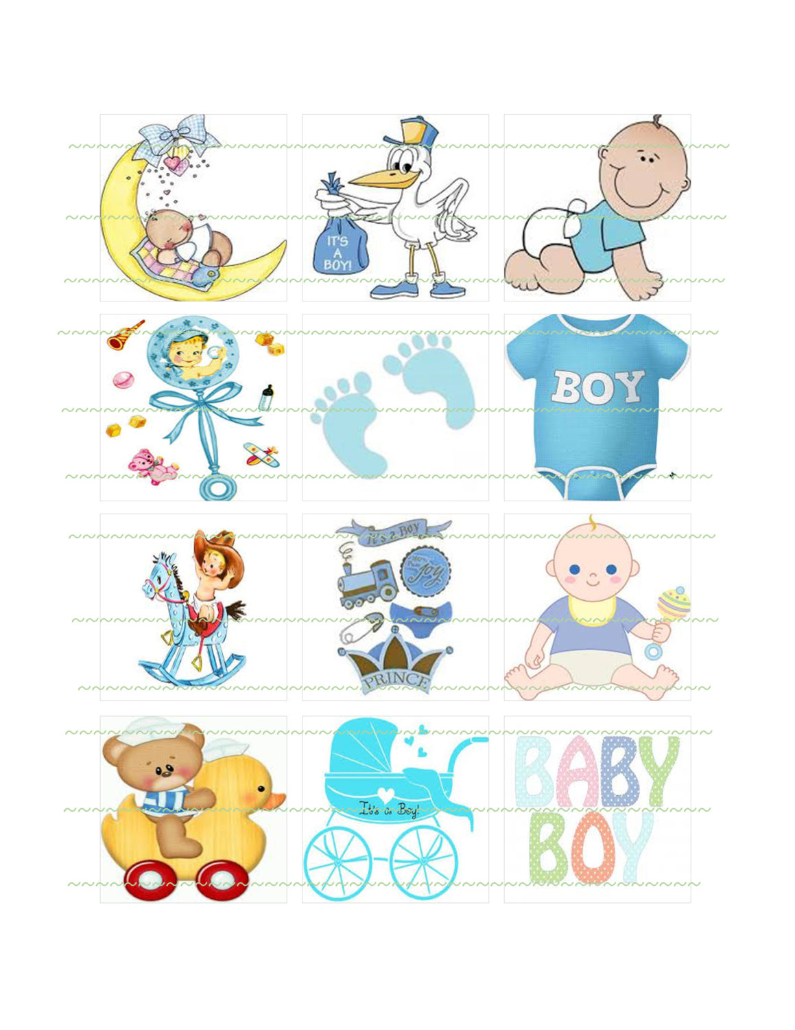 Squares clipart square thing A Instant Boy Art Cupcake