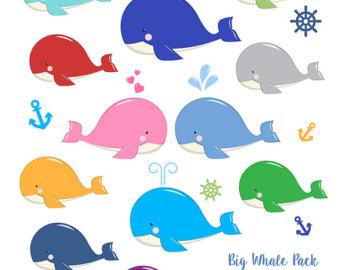 Squares clipart whale Images Etsy Invitation Cute Design