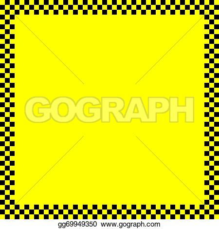 Squares clipart yellow On like Black Art taxi