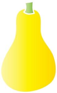 Squash clipart A yellow squash yellow a