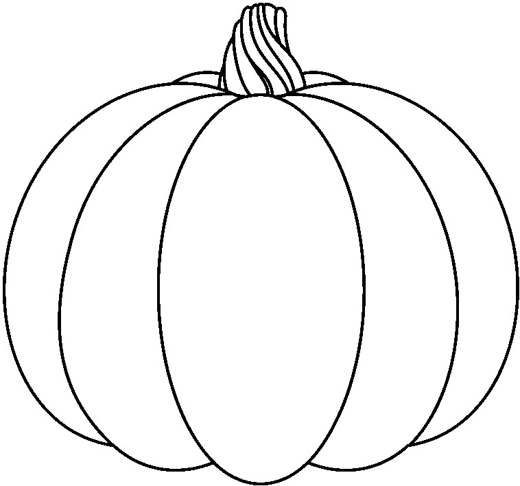 Squash clipart black and white And pumpkin cute and free