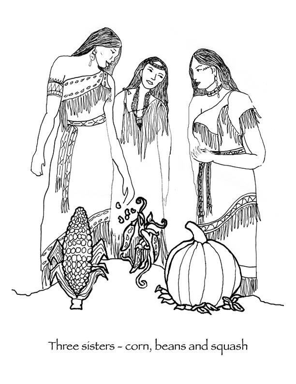 Pilgrim clipart wampanoag indians Native american Page squash com