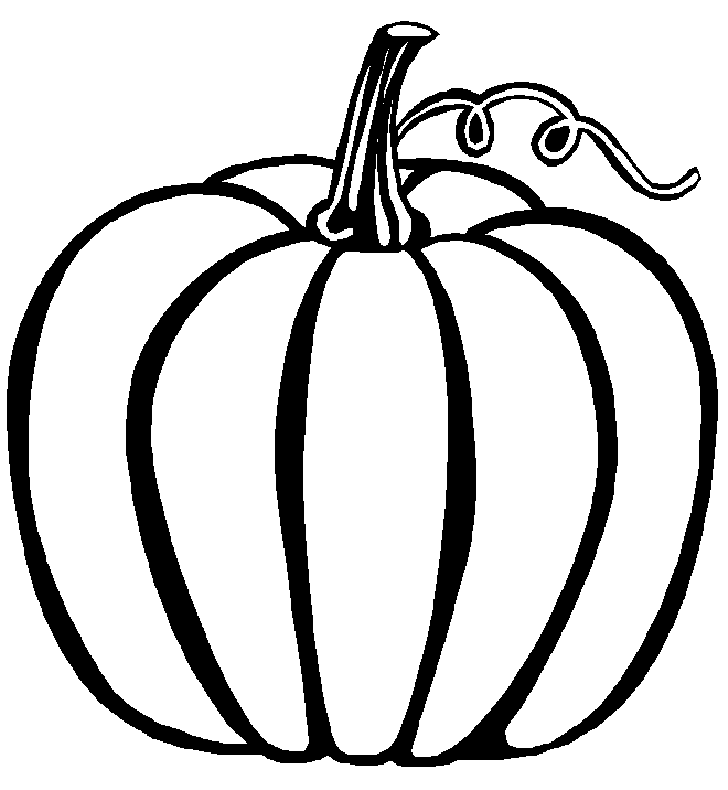 Squash clipart outline Pumpkin #22940 Art Best Printable
