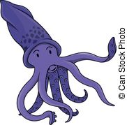 Squid clipart And Illustrations  801 Clipartby