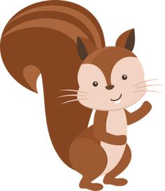 Squirrel clipart A Squirrel art clip Clipartix