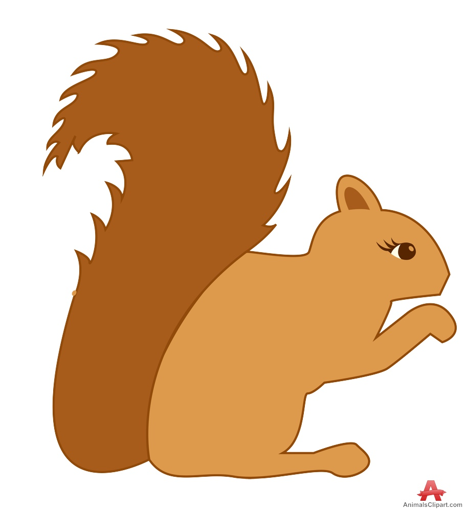 In The Desert clipart squirrel Squirrel clipart art clipart clipartcow