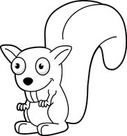 Teeth clipart squirrel 50 for with outline Animals
