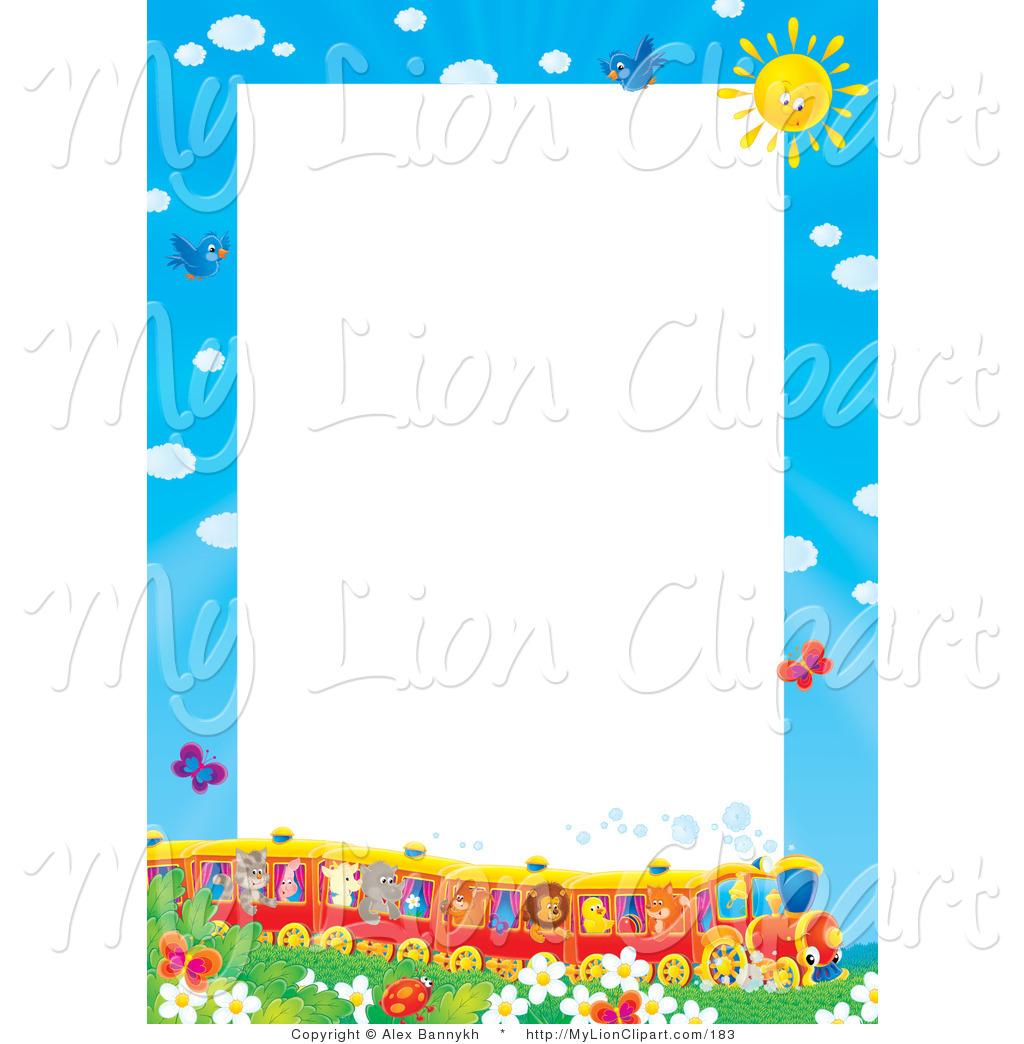 Train clipart frame #4