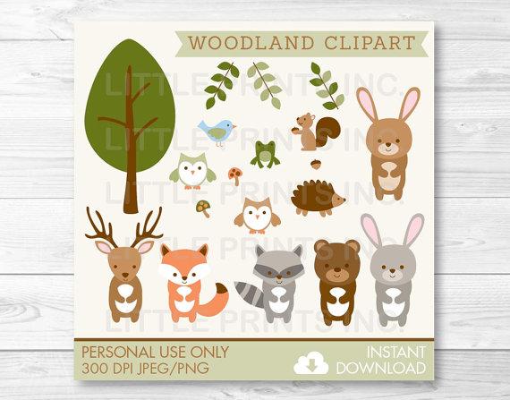 Hedgehog clipart forest animal  Clip Bear Forest Owl