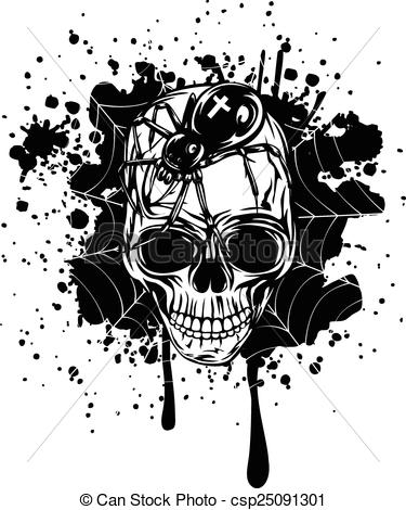 Ssckull clipart abstract Background background and  skull