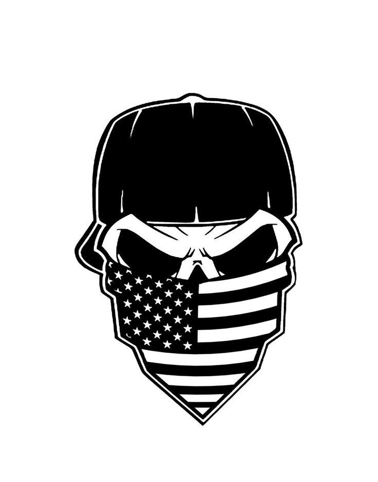 Ssckull clipart bandana Clip Cliparts Skull Download Free