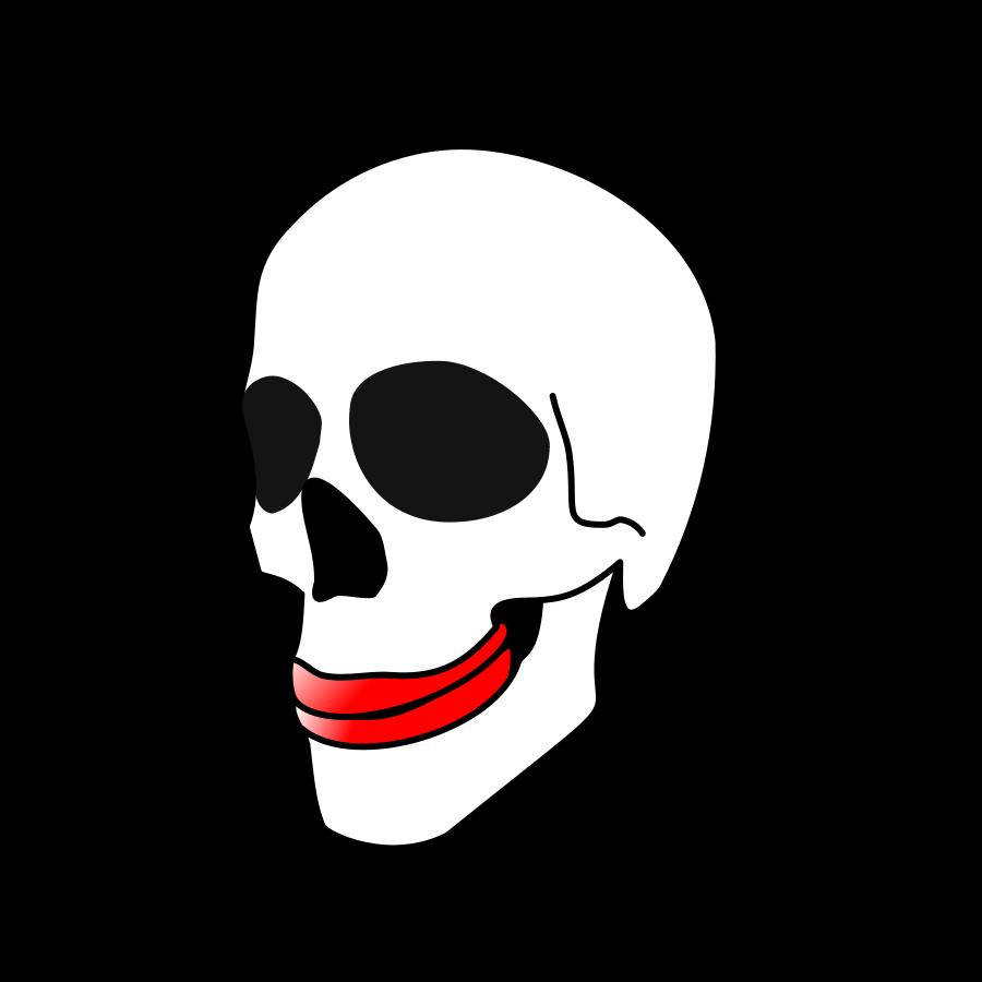 Ssckull clipart basic List Skull vector clip clip