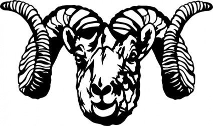 Dodge clipart dodge ram Sheep skull clipart Bighorn