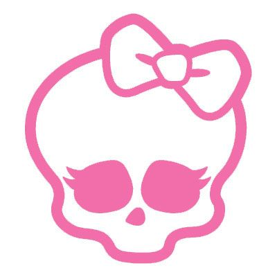 Ssckull clipart bow For 5 cute Decal Windows