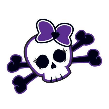 Sugar Skull clipart bow And Cross Tattoo skull Temporary