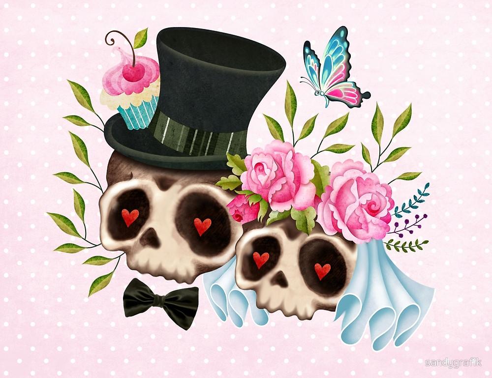 Ssckull clipart bride #11