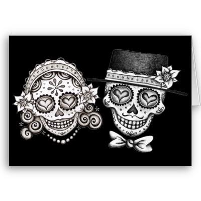 Ssckull clipart bride #7