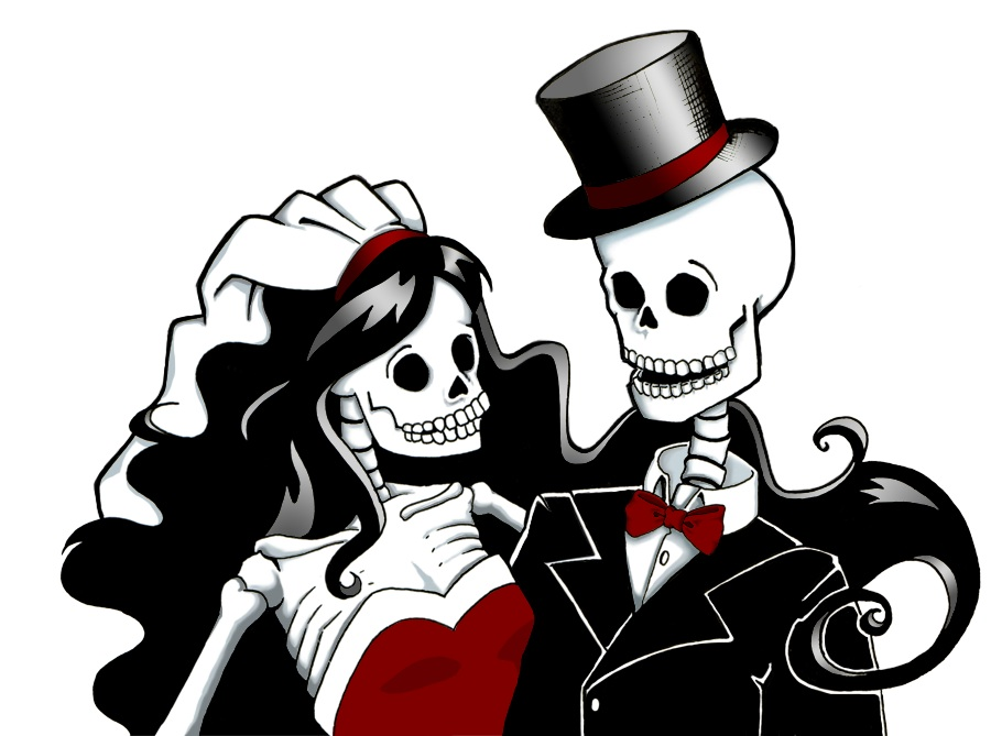 Zombie clipart bride and groom BrideBadass Dead  a Planning