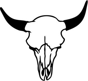 Drawn skull cow Free Clipart Download Cliparts Art