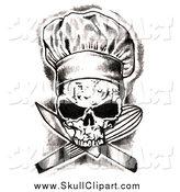 Ssckull clipart chef #4