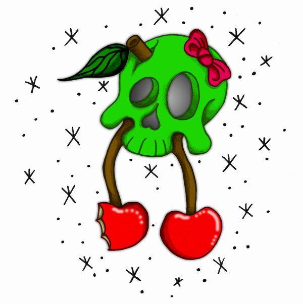 Ssckull clipart cherry Best on cherries 98 harbinger