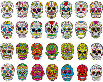 Ssckull clipart colorful Title=Colorful Art alt=Colorful Library Skull