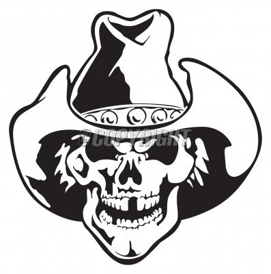 Cowboy clipart skull StockPodium How In Cowboy Hat