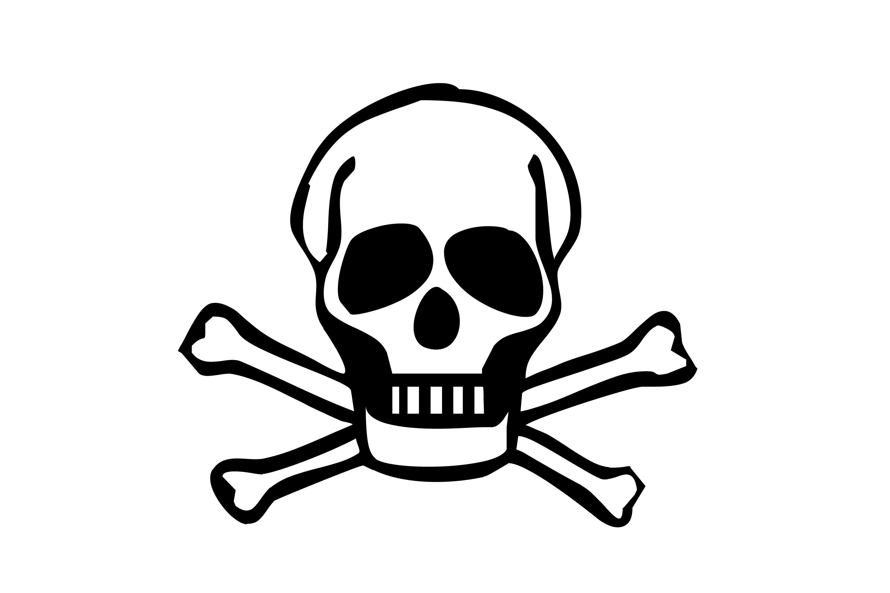 Danger clipart crossbone Crossbones Free  Cliparts Cute