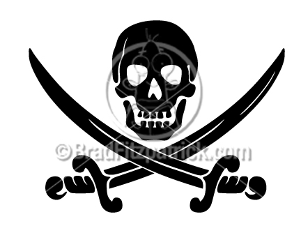 Danger clipart wet floor Skull & Skull Skull &