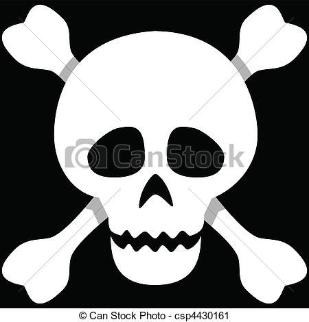 Toxic clipart skull and crossbones Human Skull Skull Vector and