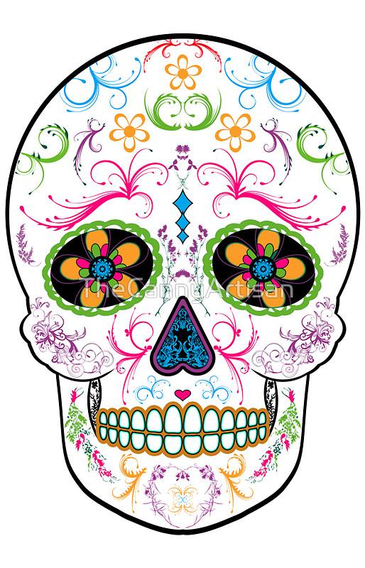 Day Of The Dead clipart colorful Bright of Dead Sugar Dead