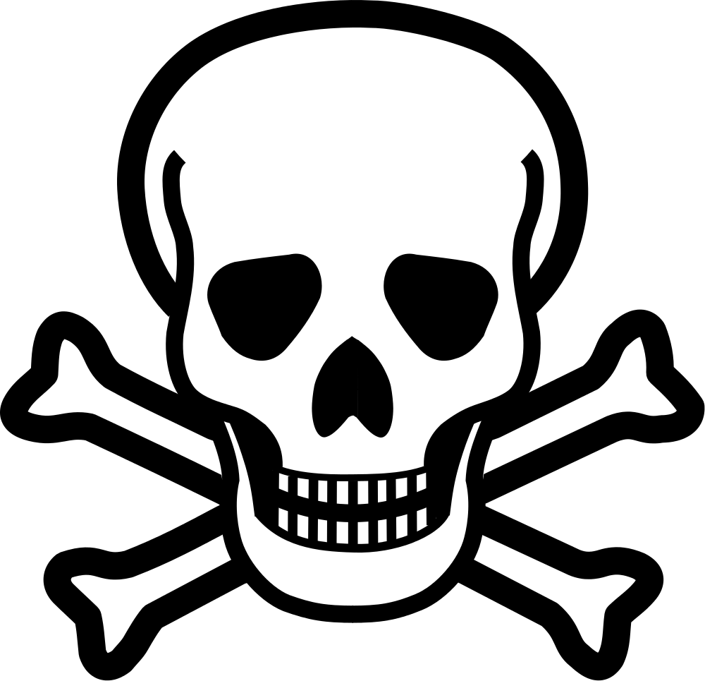 Ssckull clipart dead Wikimedia Commons svg crossbones File:Skull