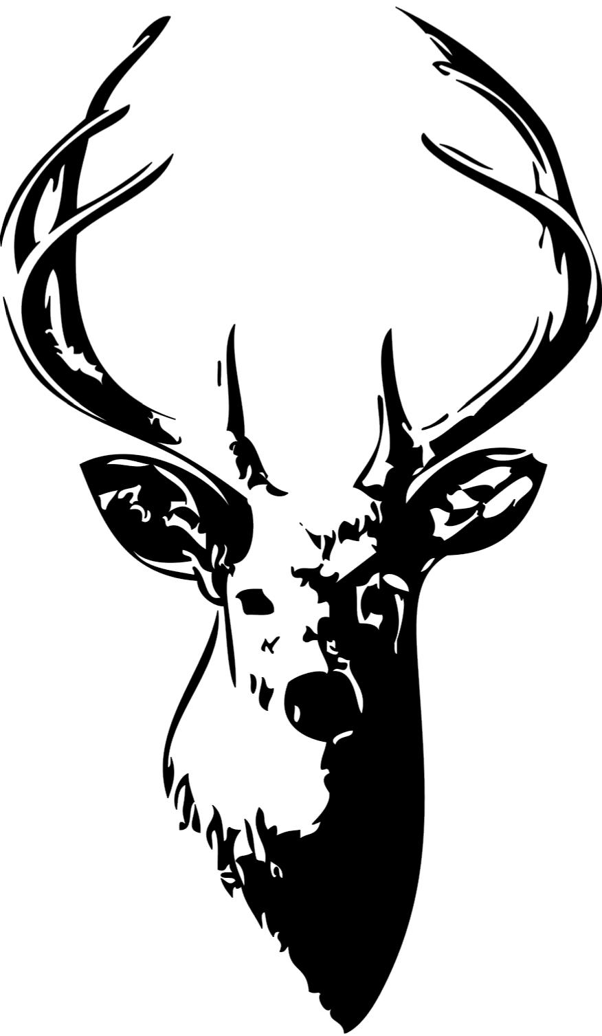 Hunting clipart whitetail deer #4