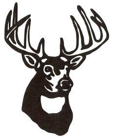 Ssckull clipart deer head Clip Whitetail Skull Deer Clipart