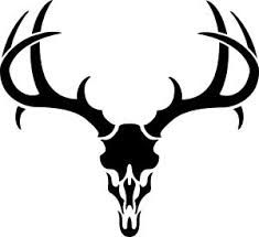 Ssckull clipart deer head Skull for Deer Image vector