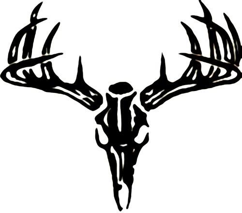 Buck clipart deer skull Skull Head Free Logo Clip