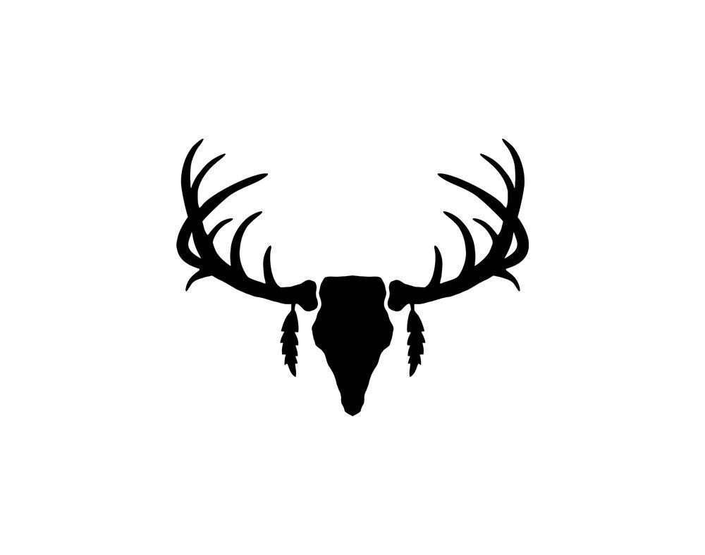 Ssckull clipart deer head Art for Free Popular on