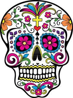 Ssckull clipart dia de los muertos skull De de dia muertos