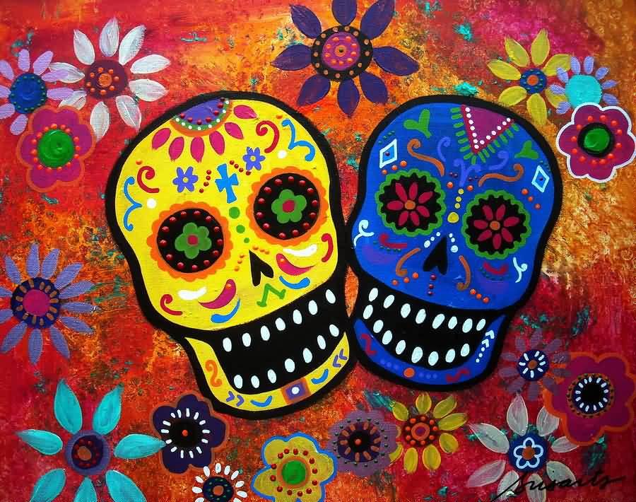 Day Of The Dead clipart feliz Clipart Day Muertos Dia Muertos