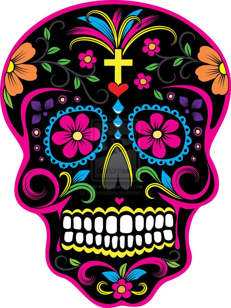 Ssckull clipart dia de los muertos skull Skull Los Muertos de Dia