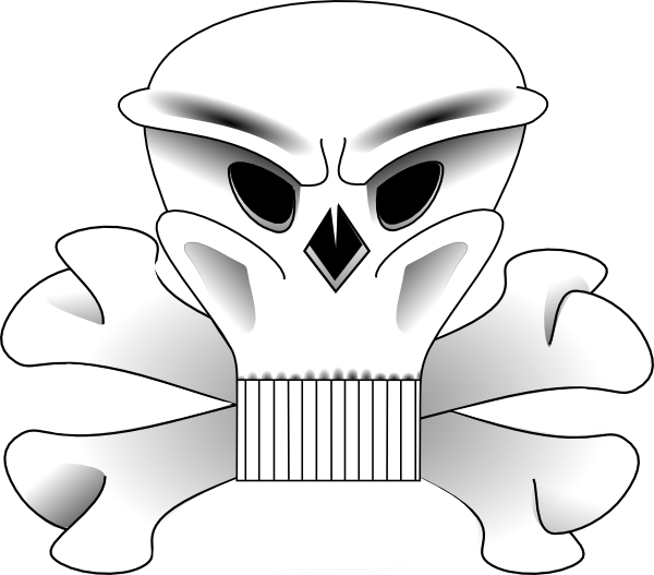 Ssckull clipart duck 2 Clip Bones at online