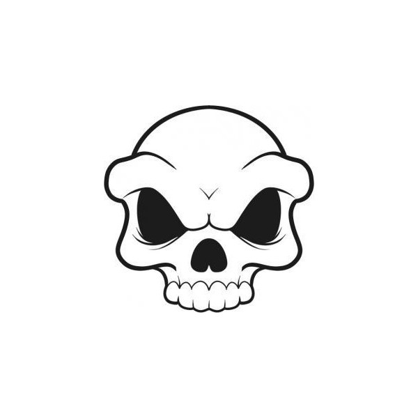 Drawn ssckull simple Best Simple Pinterest drawing top