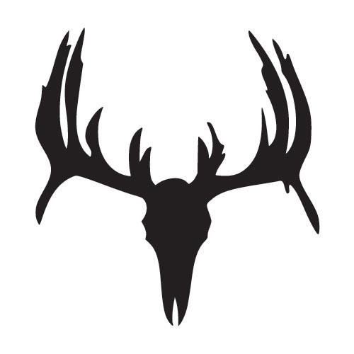 Antler clipart deer head Collection Elk art skull clip