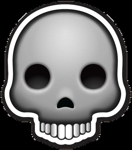 Ssckull clipart emoji #4