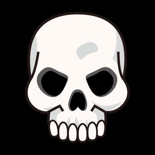 Ssckull clipart emoji #9
