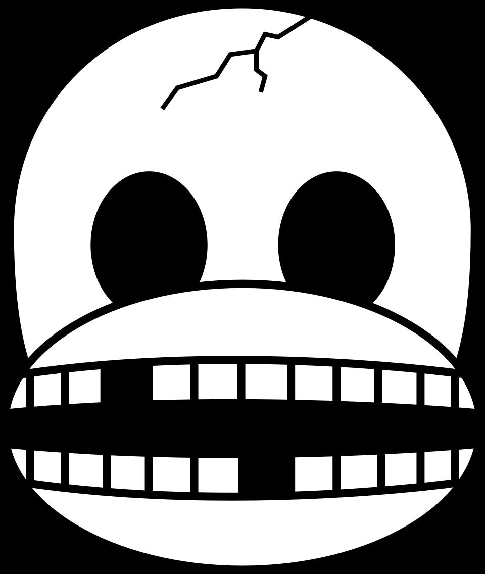 Ssckull clipart emoji #14