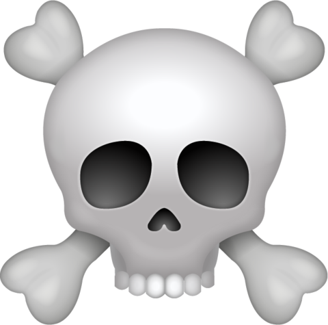 Ssckull clipart emoji #5