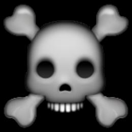 Ssckull clipart emoji #10